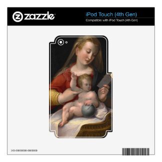 MADONNA AND CHILD iPod TOUCH 4G DECALS