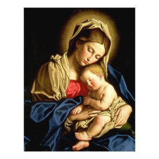 Madonna and Child Jesus - Sassoferrato Flyer