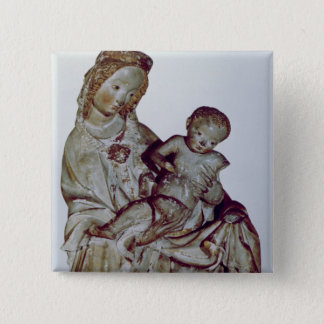 Madonna and Child, known as the Krumauer Pinback Button