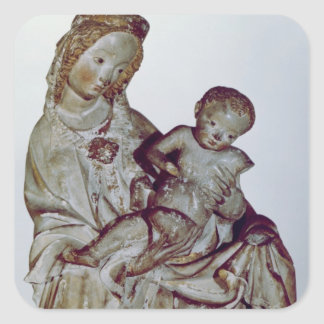 Madonna and Child, known as the Krumauer Square Sticker