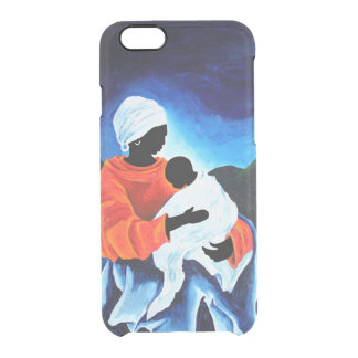 Madonna and child - Lullabye 2008 Clear iPhone 6/6S Case