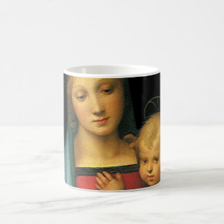 Madonna And Child, Madonna del Granduca by Raphael Mug