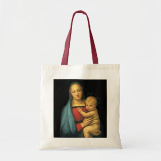 Madonna And Child, Madonna del Granduca by Raphael Tote Bag
