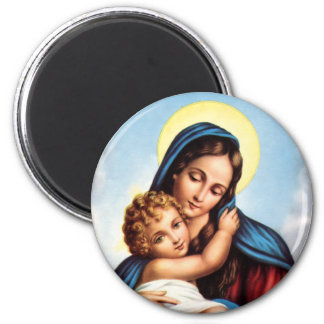 Madonna and Child magnet