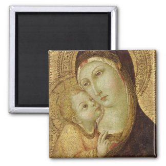 Madonna and Child Refrigerator Magnet