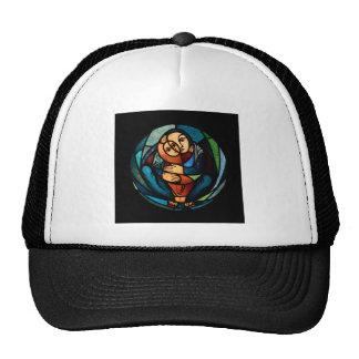 MADONNA AND CHILD multicolored simbol Trucker Hat