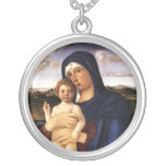 Madonna and Child necklace
