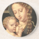 Madonna and Child Nursing Drink Coasters