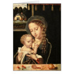 Madonna and Child Nursing Greeting Card