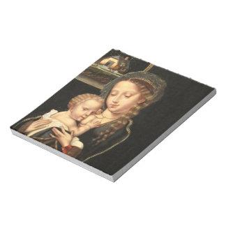 Madonna and Child Nursing Memo Notepads