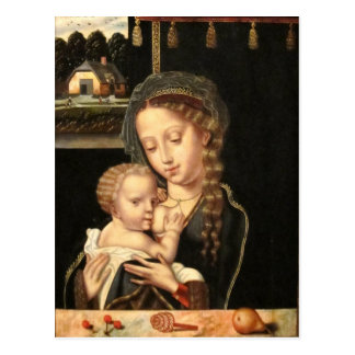 Madonna and Child Nursing Post Card