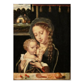 Madonna and Child Nursing Posters