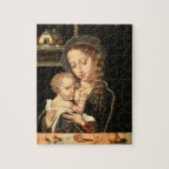 Madonna and Child Nursing Puzzles