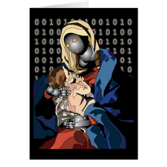 Madonna and Child of the Future Card