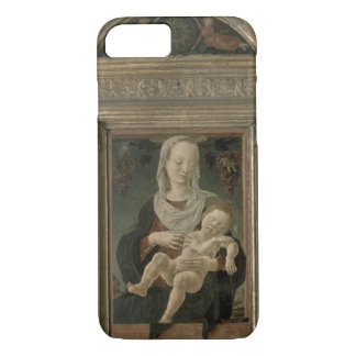 Madonna and Child (oil on panel) iPhone 8/7 Case