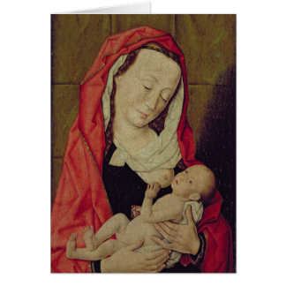 Madonna and Child (panel) Card
