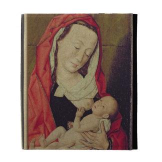 Madonna and Child (panel) iPad Folio Case