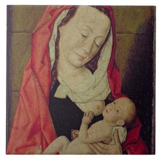 Madonna and Child (panel) Ceramic Tiles