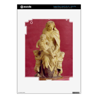 Madonna and Child (papier mache) iPad 3 Skins