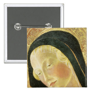 Madonna and Child Pinback Button