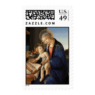 Madonna And Child Postage at Zazzle