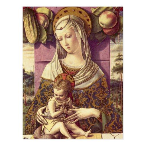 Madonna and Child Postcards