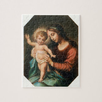 Madonna And Child Puzzles