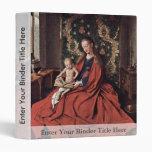 Madonna And Child Reading By Eyck Jan Van (Best Qu Binders