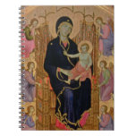 Madonna and Child (Rucellai Madonna) 1285 (tempera Note Book