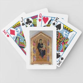 Madonna and Child Rucellai Madonna 1285 tempera Bicycle Card Deck