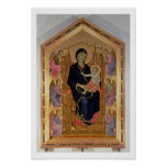 Madonna and Child (Rucellai Madonna) 1285 (tempera Posters