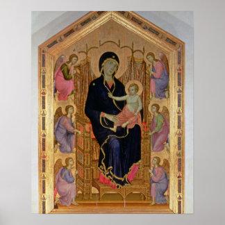 Madonna and Child (Rucellai Madonna) 1285 (tempera Poster