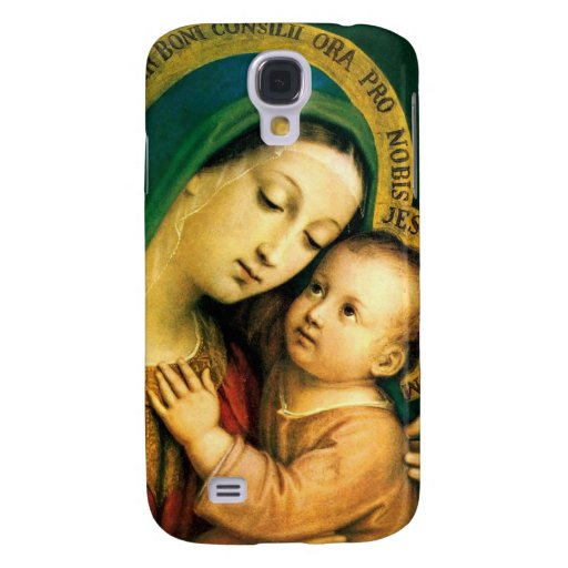MADONNA AND CHILD SAMSUNG GALAXY S4 COVER