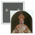 Madonna and Child, School of Cusco Pinback Button