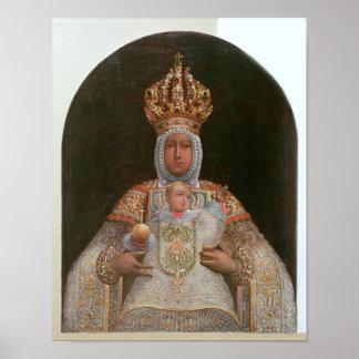 Madonna and Child, School of Cusco Print