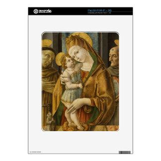 madonna and child iPad decal