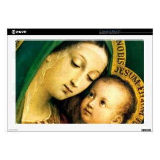 MADONNA AND CHILD DECALS FOR LAPTOPS
