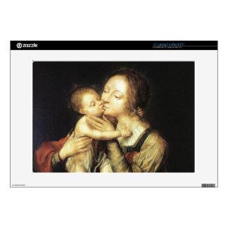 MADONNA AND CHILD LAPTOP SKIN