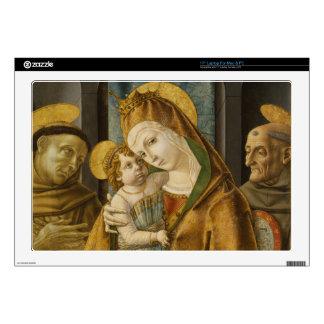 madonna and child laptop skins