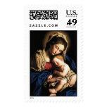 Madonna and Child Stamp