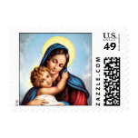 Madonna and Child Stamps