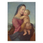 Madonna and Child (The Tempi Madonna) by Raphael Greeting Cards