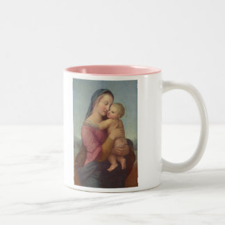 Madonna and Child (The Tempi Madonna) by Raphael Two-Tone Coffee Mug