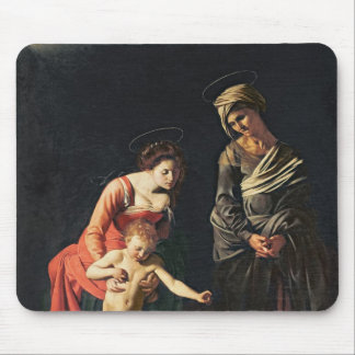 Madonna and Child with a Serpent, 1605 Mouse Pad