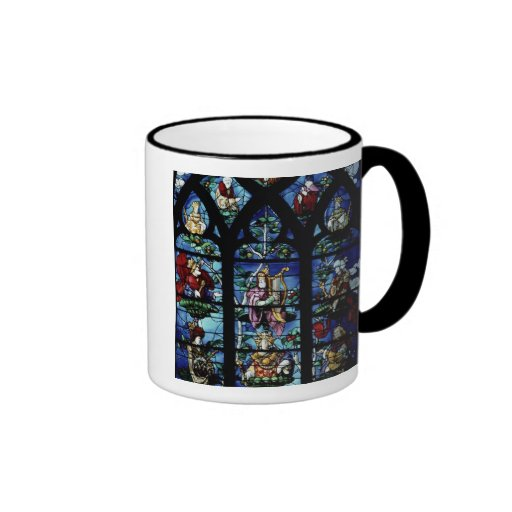 Madonna and Child with angels and portraits reflec Coffee Mug