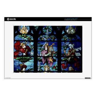 """Madonna and Child with angels and portraits reflec Skins For 15"""" Laptops"""