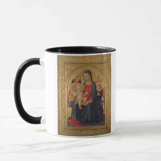 Madonna and Child with Angels, c.1467 (oil on pane Mug