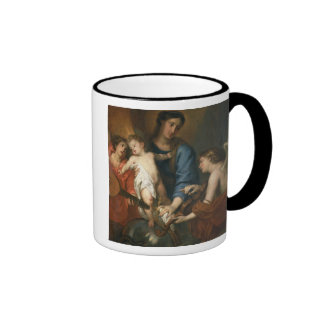 Madonna and Child with angels Coffee Mugs