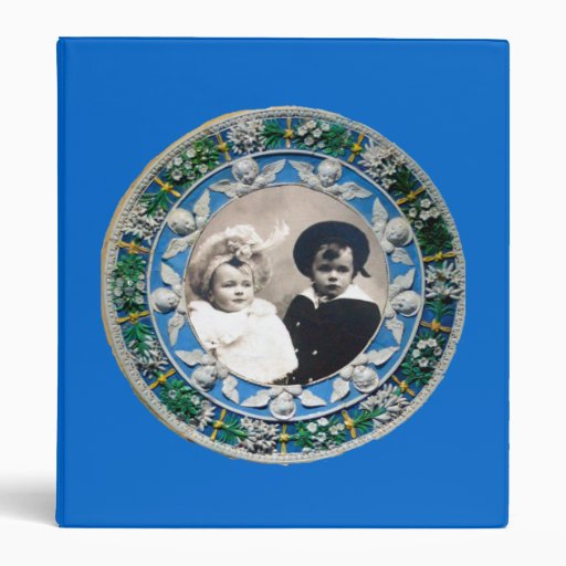 MADONNA AND CHILD WITH ANGELS , PHOTO TEMPLATE BINDER
