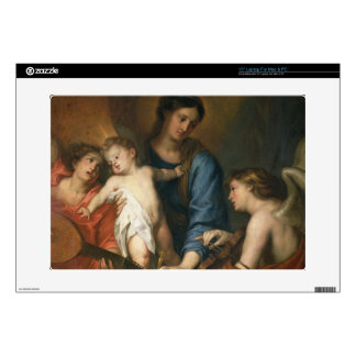 Madonna and Child with angels Skin For Laptop